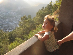 Grace at the Mirador